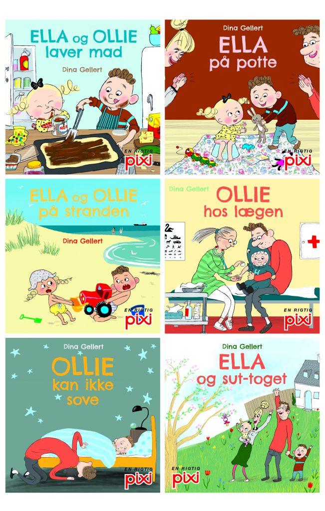pixie, pixibøger, pixibog, ella og ollie, pottetræning