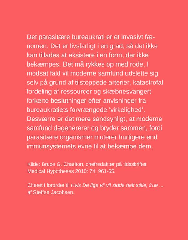 Steffen Jacobsen, Hvis De lige vil sidde helt stille frue, djøfiseringen