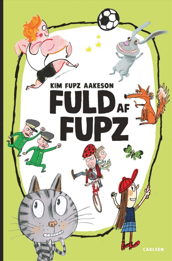 Fuld af Fupz, Kim Fupz, Kim Fupz Aakeson, godnatlæsning, godnatlæsningen, højtlæsning