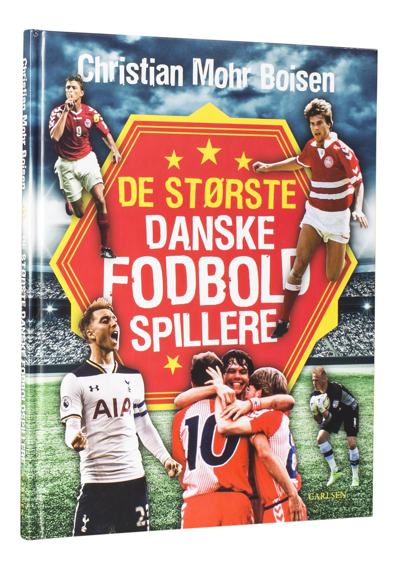 De største danske fodboldspillere, landsholdet, læs med landsholdet, fodbold, fodboldbøger, vm i fodbold
