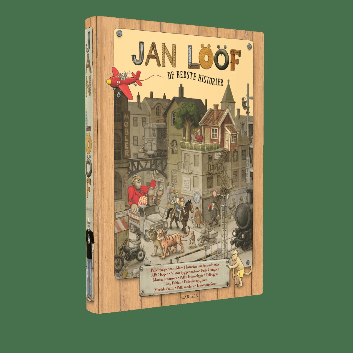 Jan Lööf, de bedste historier, historien om det røde æble, min morfar er sørøver, højtlæsning, børnebøger