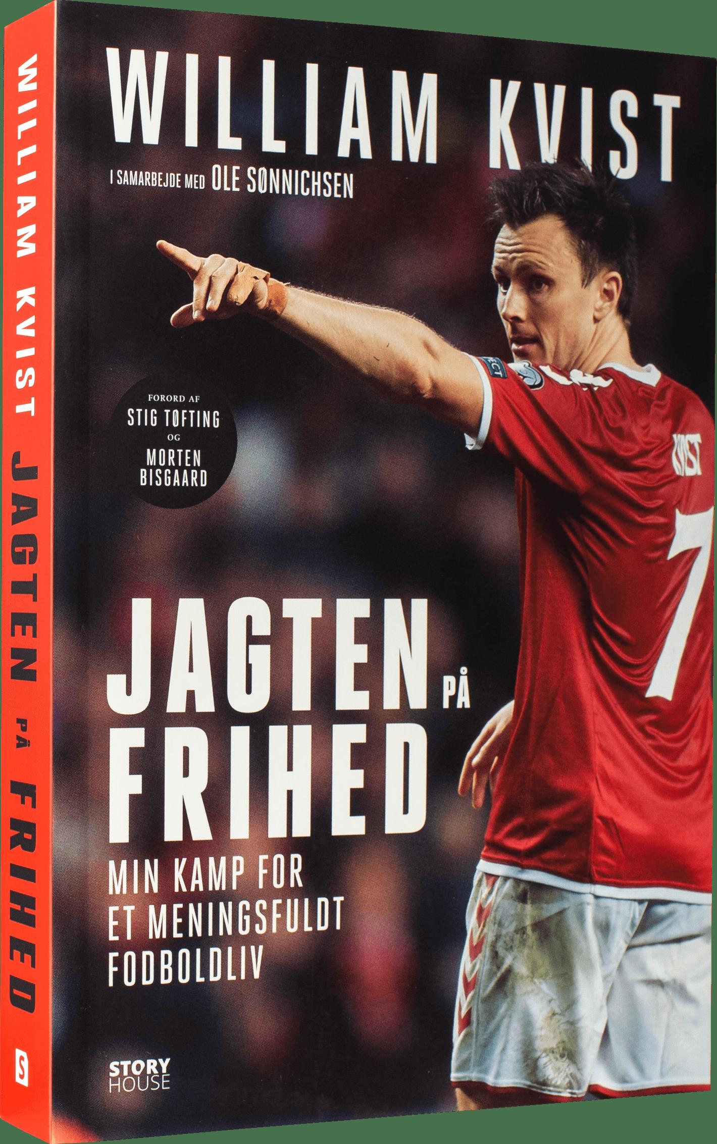 William Kvist, landsholdet, læs med landsholdet, fodbold, fodboldbog, fodboldbøger, vm i fodbold