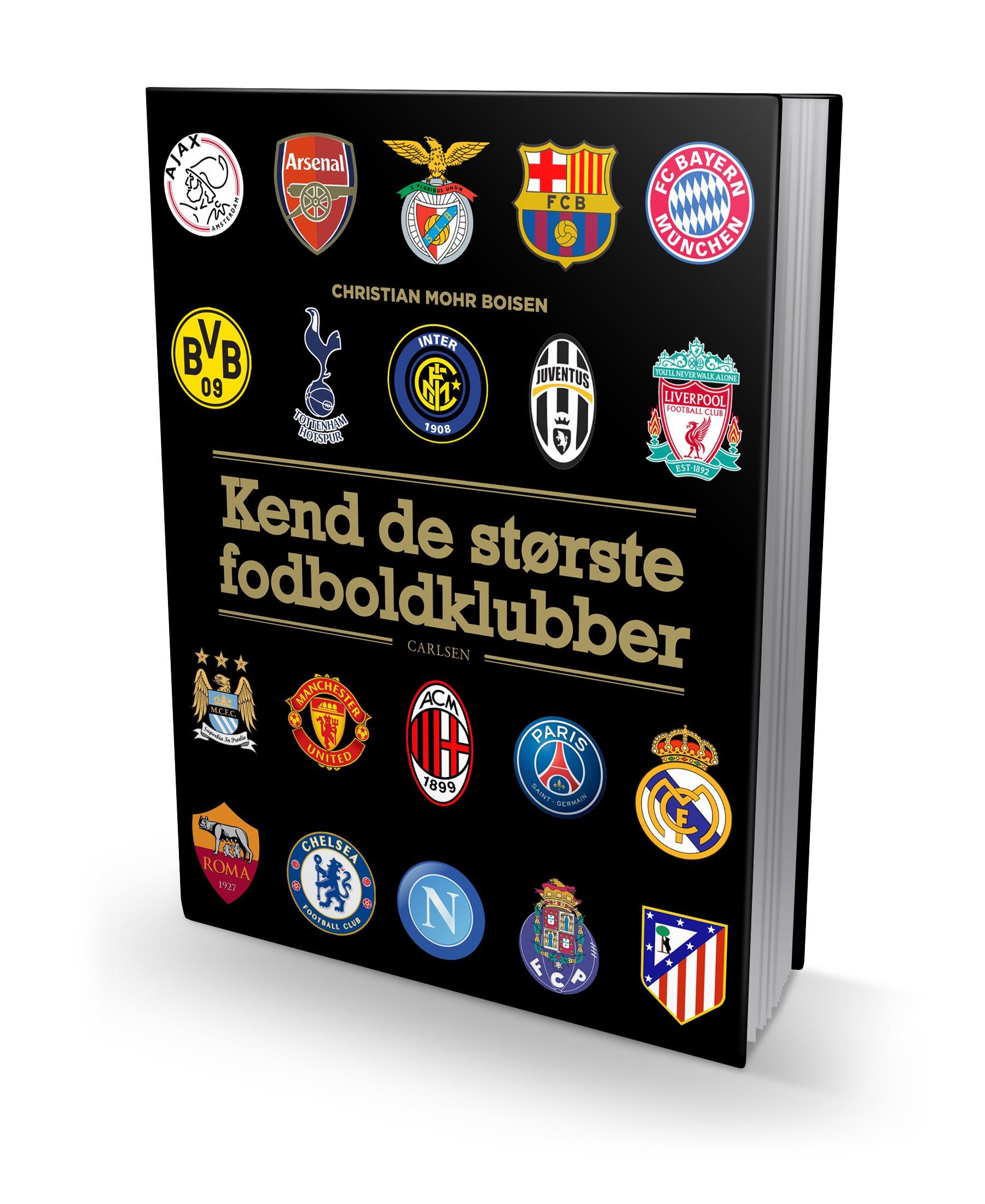 De største danske fodboldspillere, landsholdet, læs med landsholdet, fodbold, fodboldbøger, vm i fodbold, kend de største fodboldklubber, vm