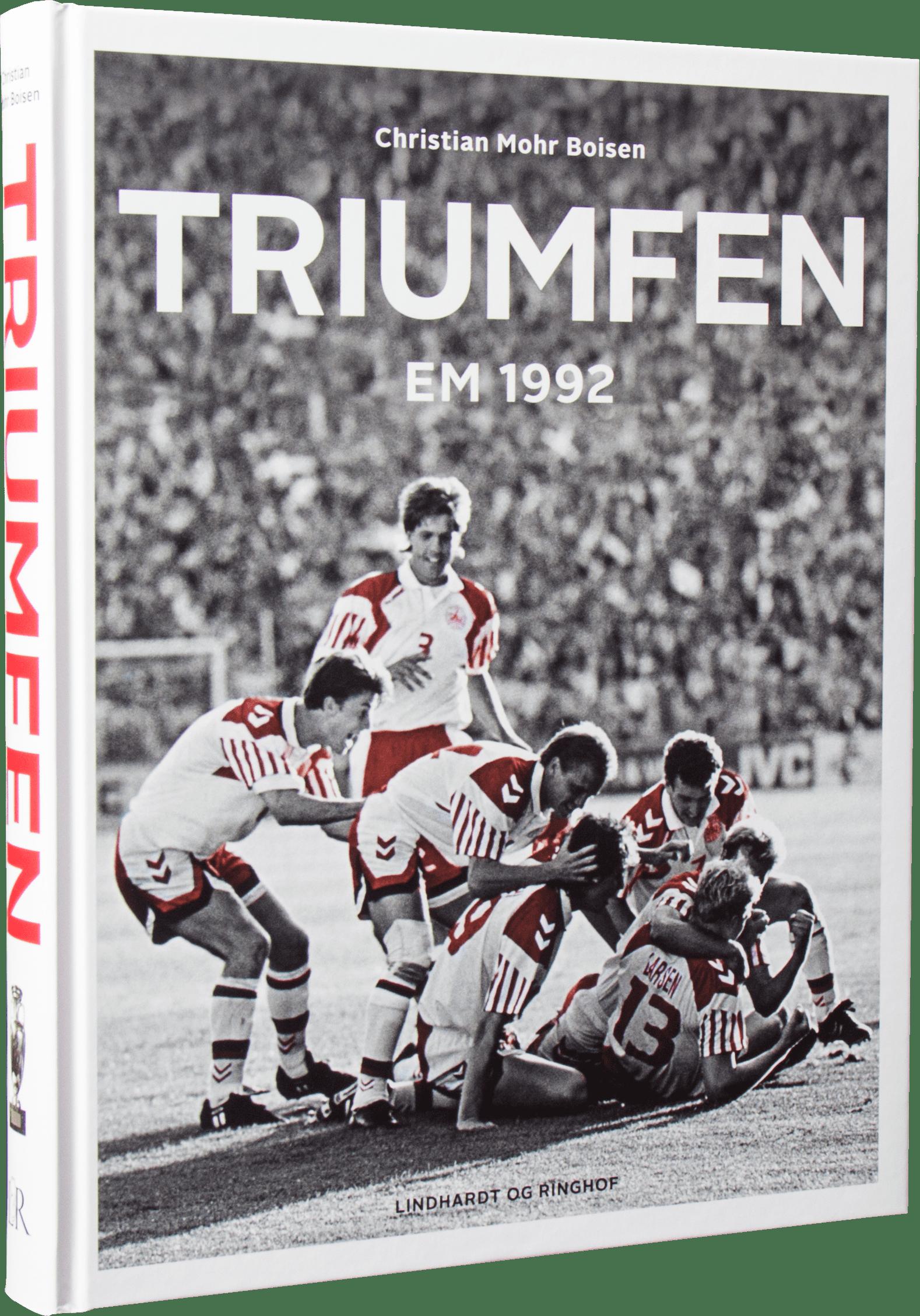 triumfen, fodbold, fodboldbøger, vm i fodbold, landsholdet, læs med landsholdet