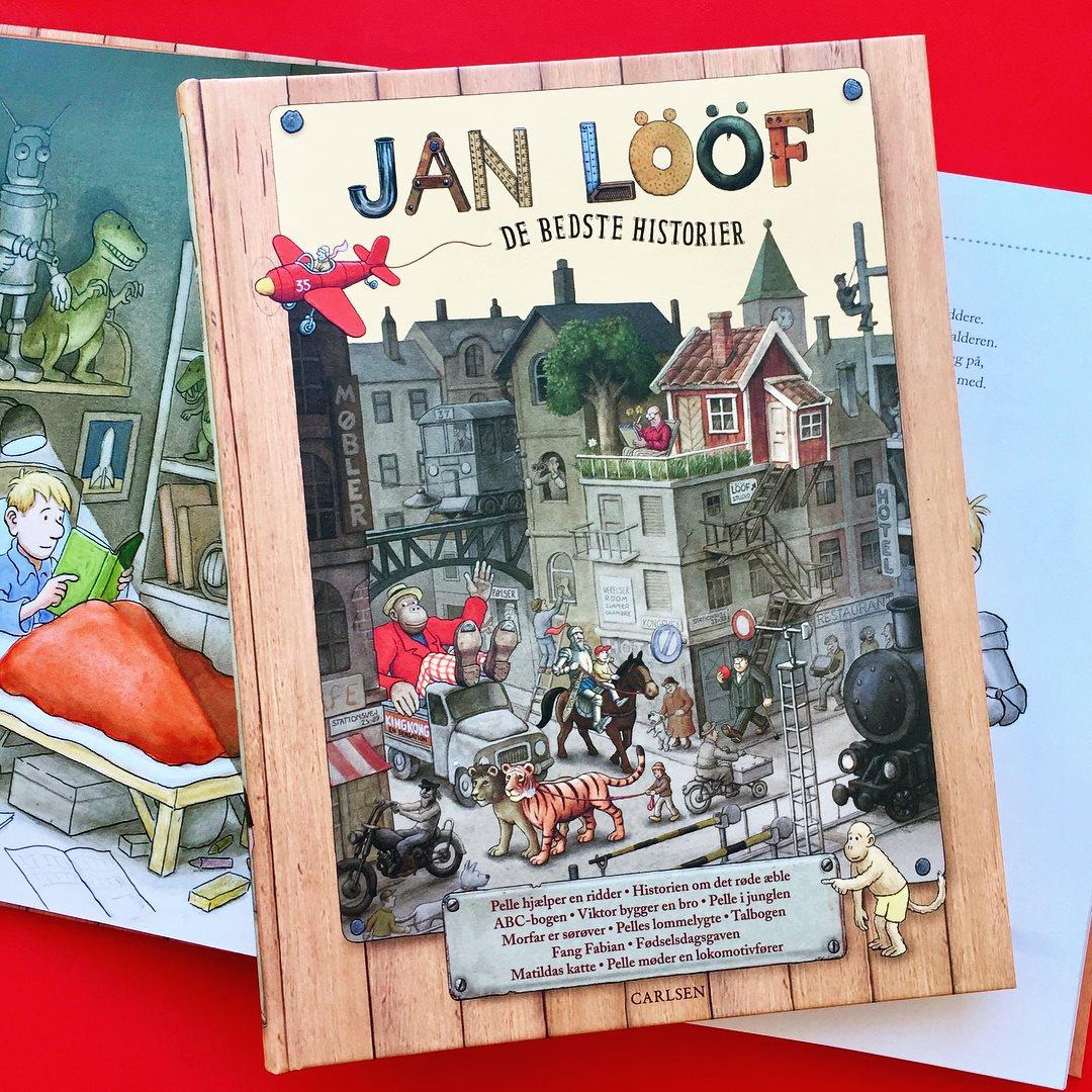 Jan Lööf, de bedste historier, højtlæsningshygge, feriebøger, 5-9-årige