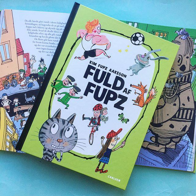 Fuld af fupz, kim fupz aakeson, højtlæsningshygge, feriebøger, 5-9-årige