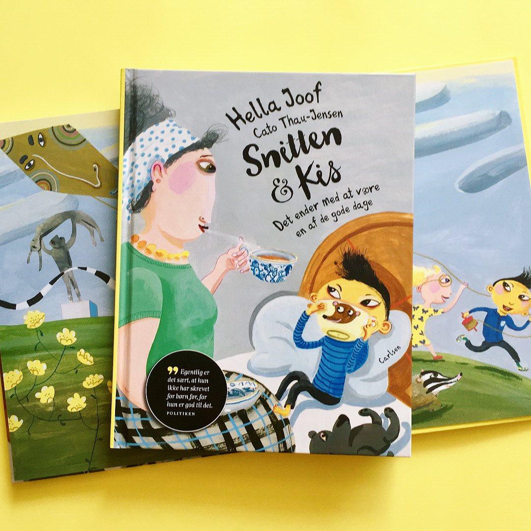 snitten og kis, hella joof, højtlæsningshygge, feriebøger, 5-9-årige