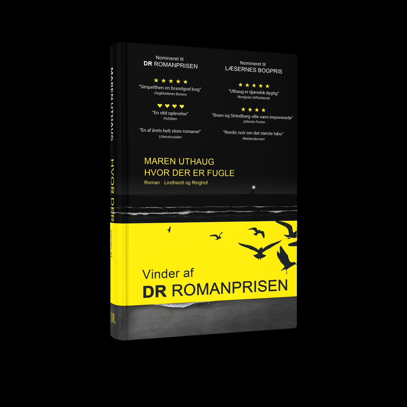 Maren Uthaug, Hvor der er fugle, DR Romanprisen 2018