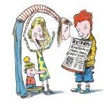 Lige børn leger bedst – Skæve historier om vendinger, som de voksne fyrer af