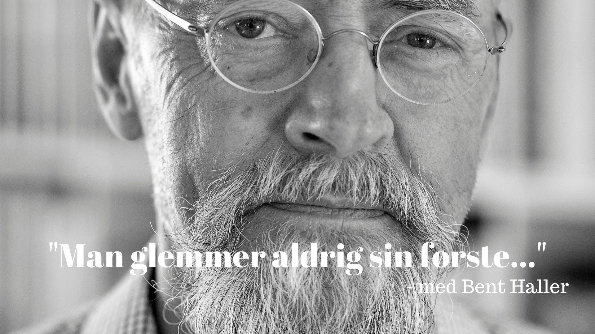 Bent Haller, Katamaranen, debut, debutroman, Man glemmer aldrig sin første