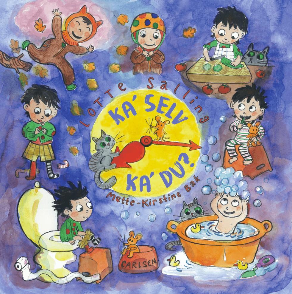 Lotte Salling, Ka' selv ka' du, kan selv, kunne selv, dialogisk læsning, højtlæsning, billedbog, billedbøger