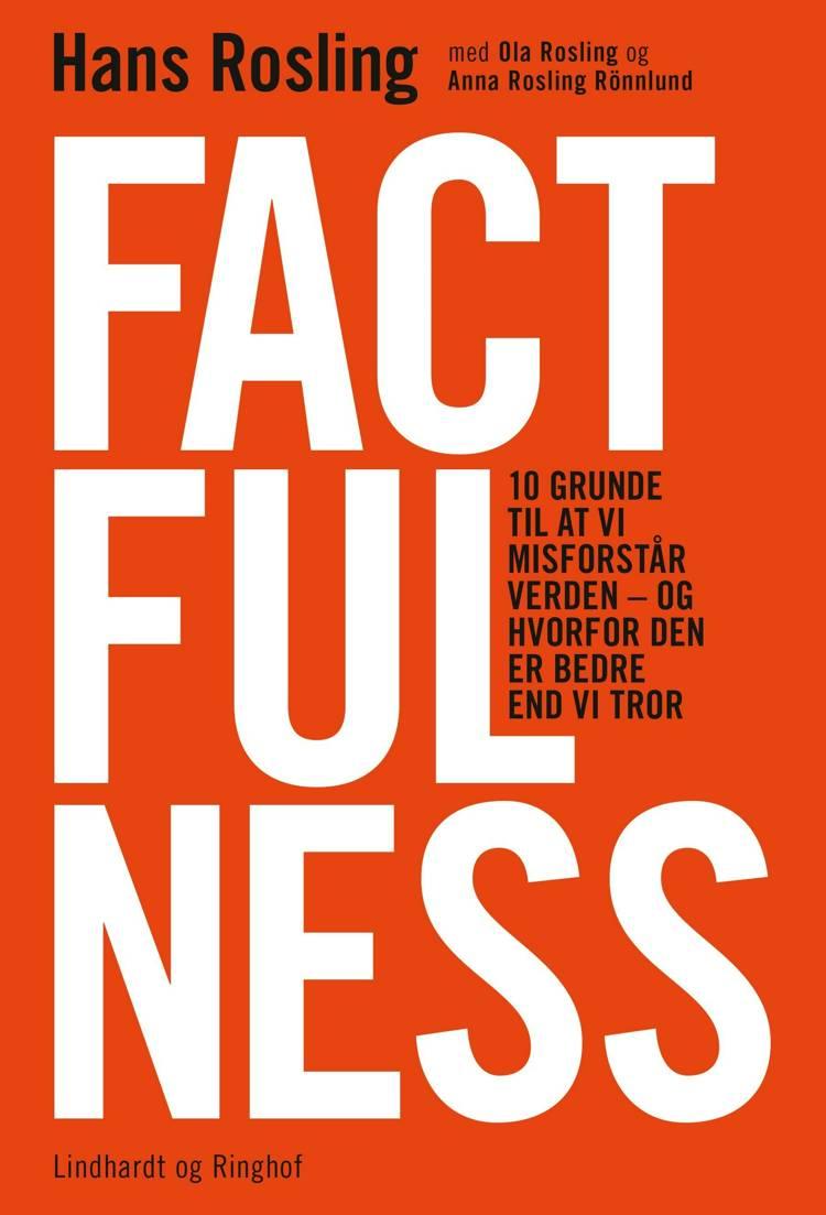 Hans Rosling, Factfulness, sommerlæsning 2018