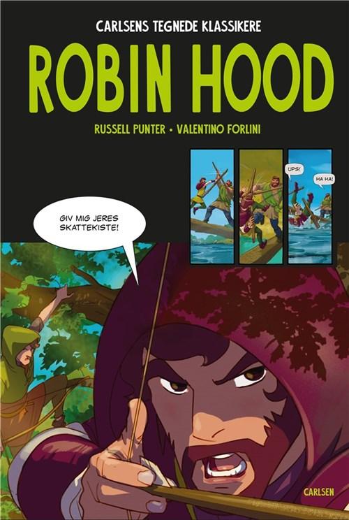 Robin Hood, carlsens tegnede klassikere, tegneserie, tegneserier,
