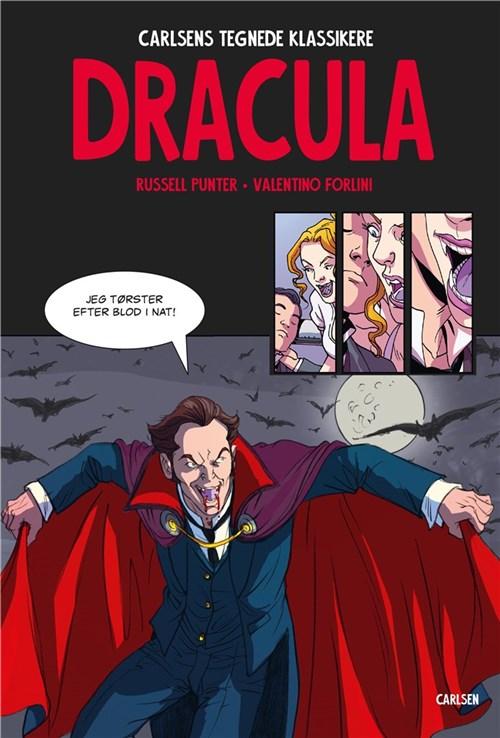 Dracula, Carlsens tegnede klassikere, tegneserie, tegneserier,