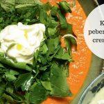 Lækre retter fra Ottolenghi: Kold rød pebersuppe med cremefraiche