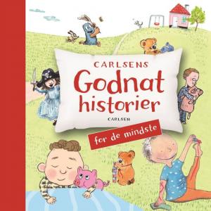 Godnathistorier, godnathistorie, 0-5-årige, børnebøger, børnebog, højtlæsning