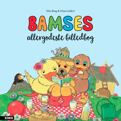 Godnathistorier, godnathistorie, 0-5-årige, børnebøger, børnebog, højtlæsning, bamse og kylling, bamses allergodeste billedbog, bamses billedbog