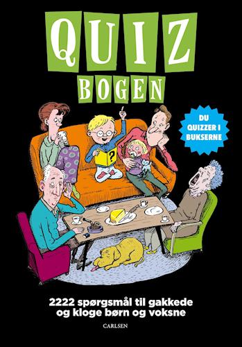 Quizbogen, P. Ruth Jørgensen, quiz, quizbog, quizzer