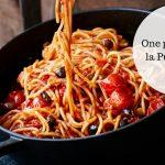 Flyttehjemmefra-kogebog: En lynhurtig omgang One pot pasta a la Puttanesca