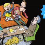 Familiehygge med Quizbogen: Hylende morsomme quizzer om alt fra film til underhylere