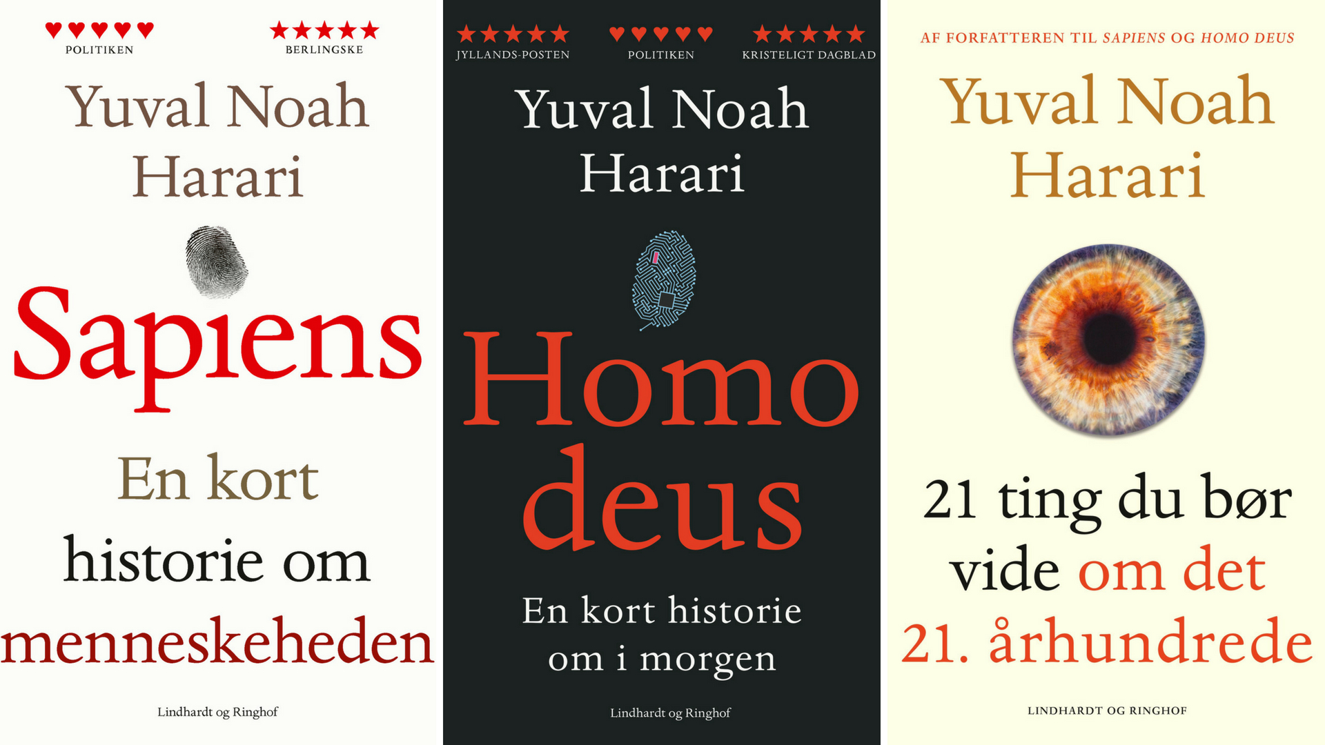 Sapiens, Homo deus, 21 tanker fra det 21. århundrede. Yuval Noah Harari