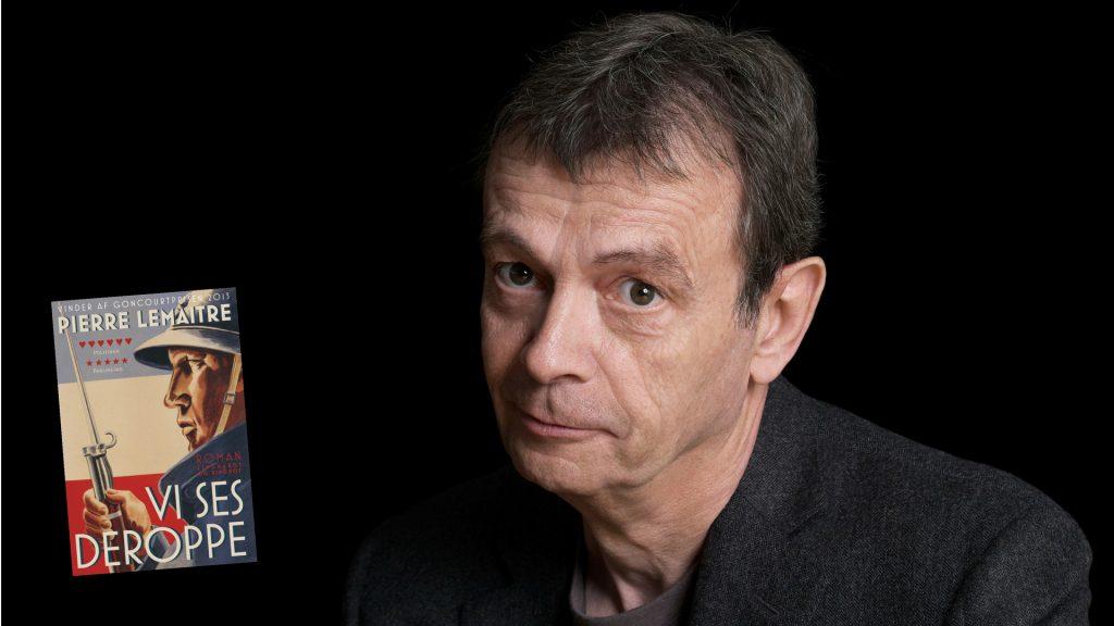 Pierre Lemaitre, Flammernes farve, sommerlæsning 2018, Vi ses deroppe, fransk bog, bog om krig, mellemkrigstiden, 1. verdenskrig, 2. verdenskrig, historie, historiske romaner, god bog, fransk forfatter, lindhardt og ringhof