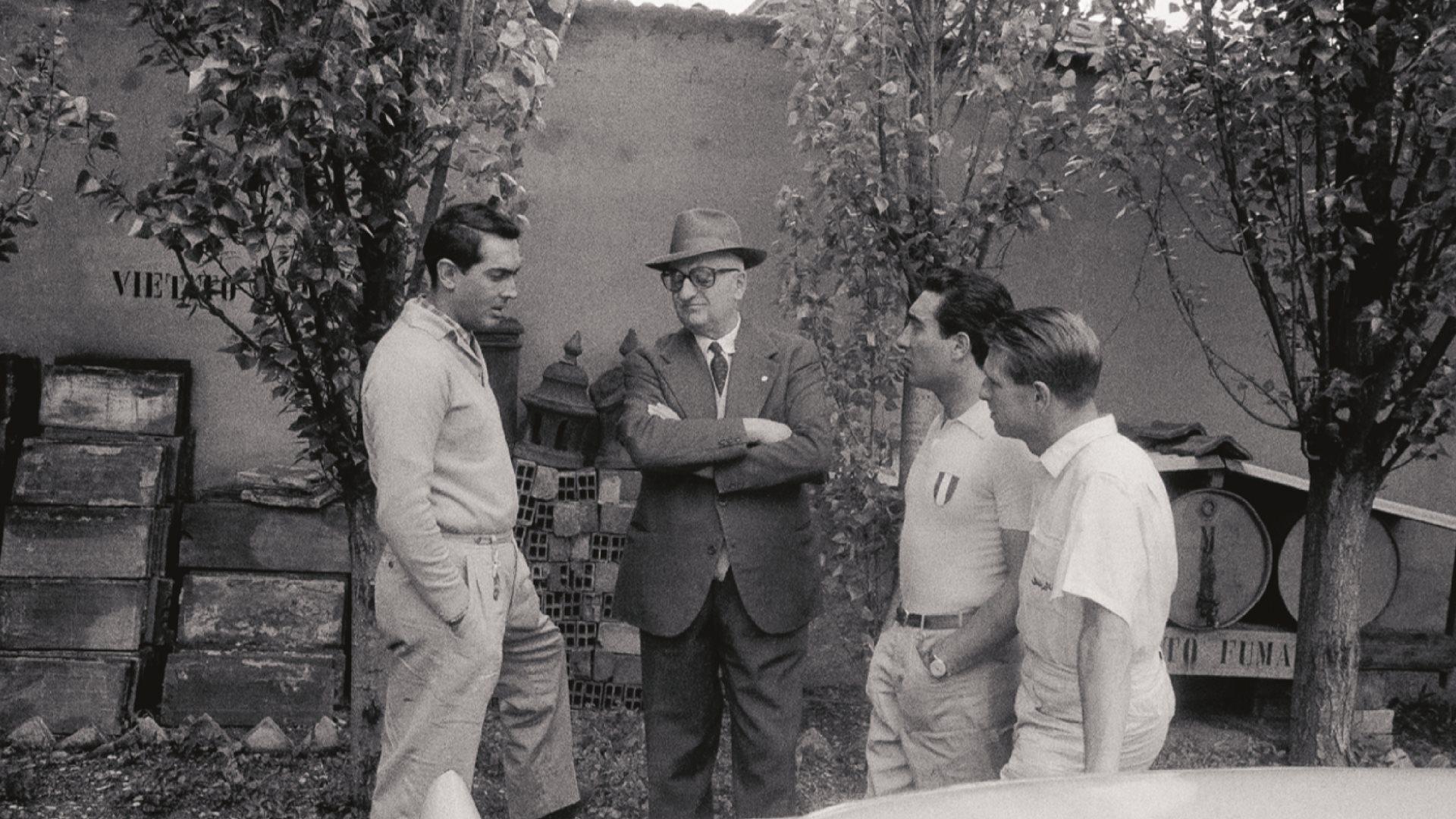 Ferrari, Enzo Ferrari, motorløb
