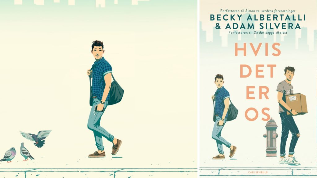 Hvis det er os, Adam Silvera, Becky Albertalli, YA, young adult