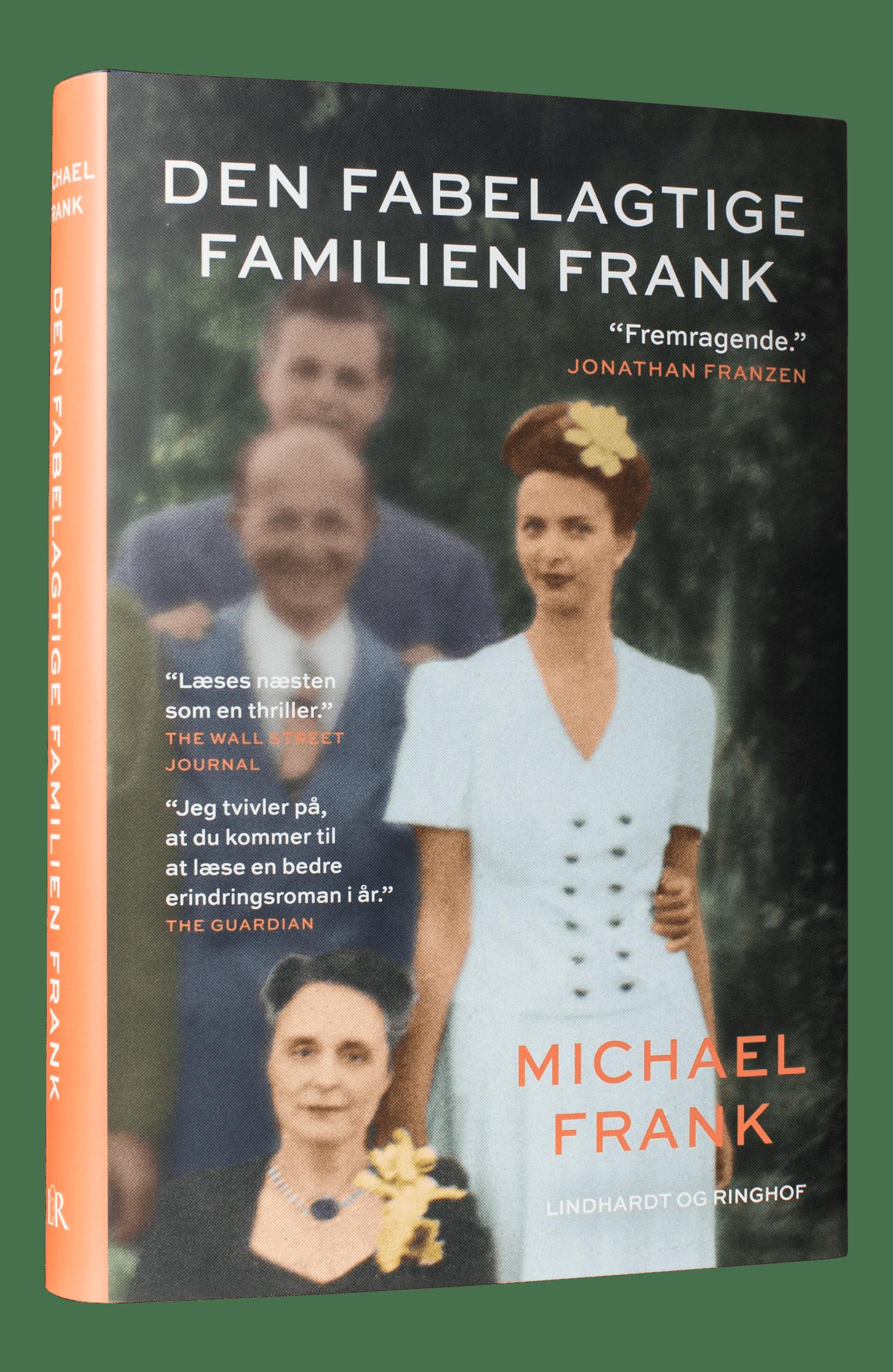 Den fabelagtige familien Frank, dannelsesroman, memoir, Michael Frank