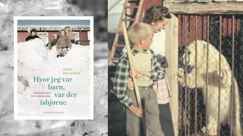 Hvor jeg var barn, var der isbjørne, anne knudsen, grønland, erindringsbog,
