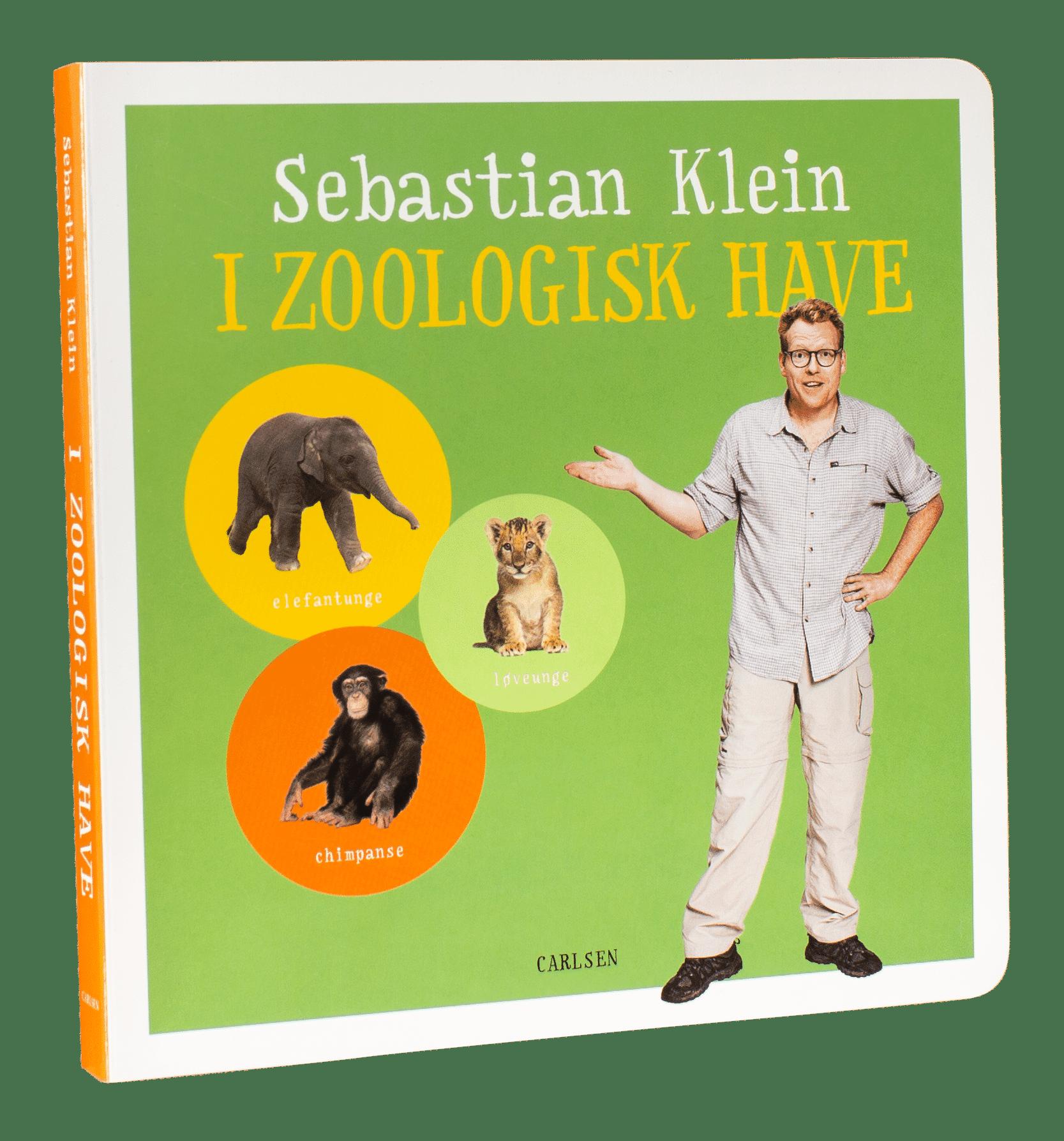Sebastian Klein, Sebastian Klein I zoologisk have, børnebog, børnebøger, papbog, papbøger, bøger til de mindste, dyrebog, bog om dyr