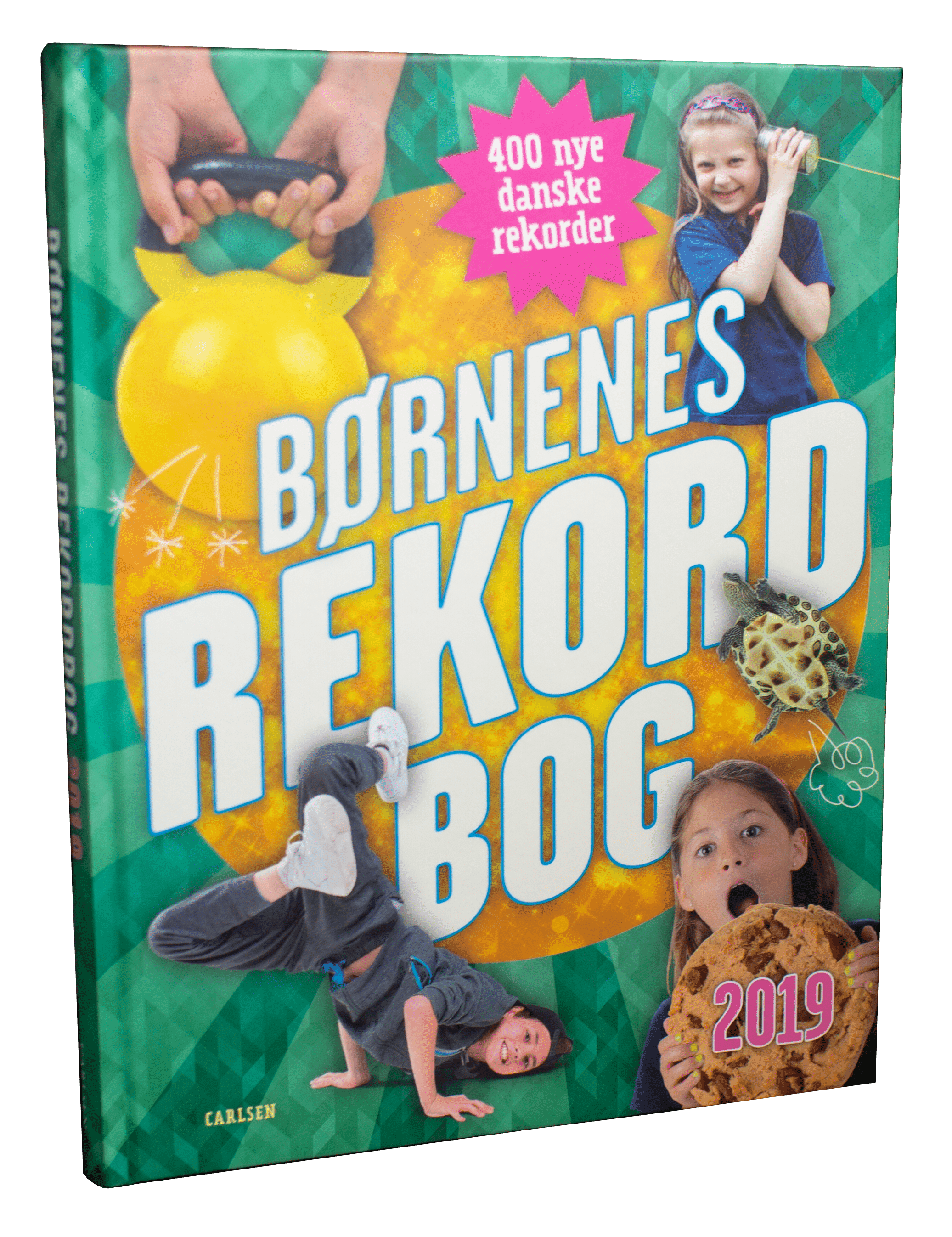 børnenes rekordbog, børnenes rekordbog 2019, rekordbog, børnebog, rekorder