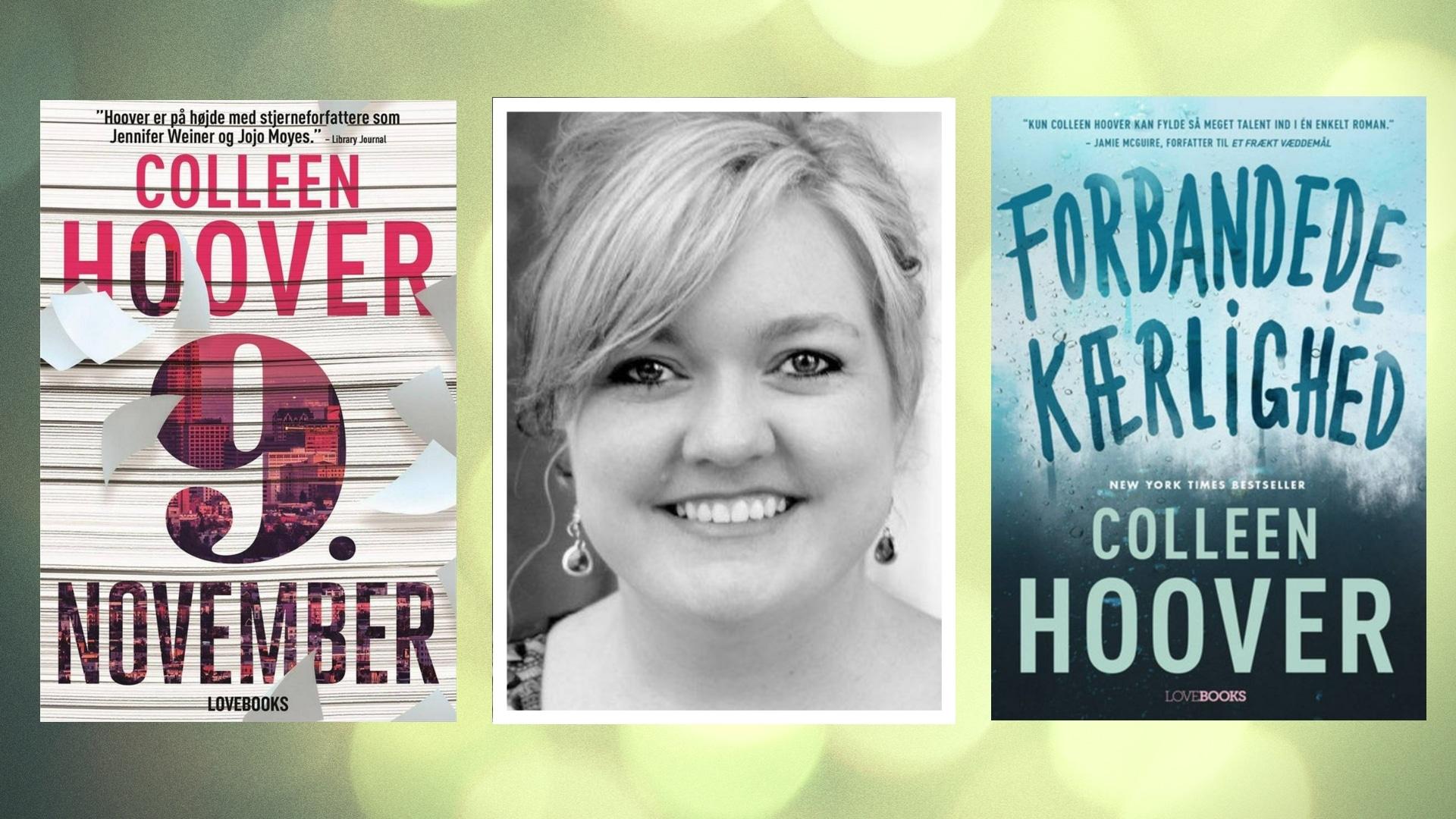 Colleen Hoover, Kærlighed, YA, young adult, kærlighedsroman, romance, romancebøger, romancebog