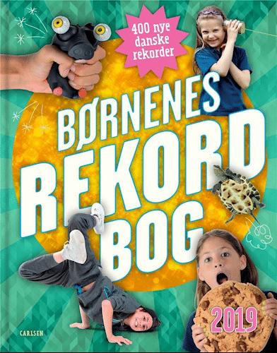 Børnenes rekordbog, Børnenes rekordbog 2019, rekordbog, rekordbøger, børnebog, børnebøger