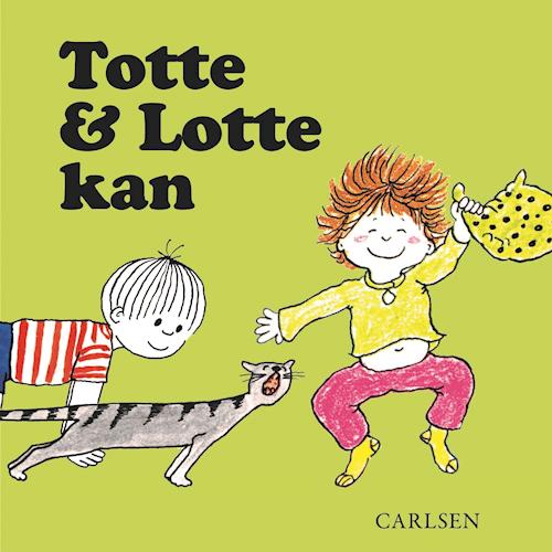 Totte og Lotte, Totte og Lotte kan, papbog, papbøger, pegebog, pegebøger, børnebog, børnebøger
