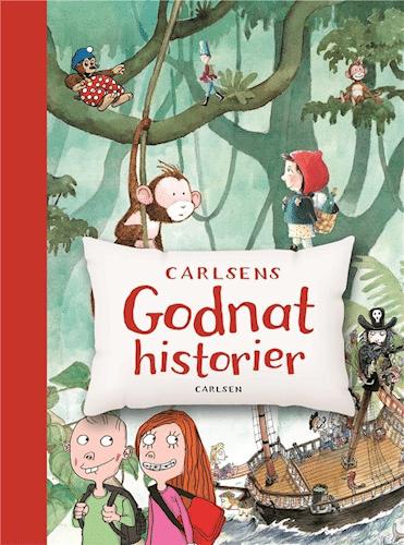 Carlsens godnathistorier, godnathistorier, højtlæsning, godnatlæsning, børnebog, børnebøger