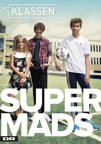 Super Mads, Klassen, DR Ultra, Morten Boesdal Halvorsen, Anne-Marie Donslund, børnebog, børnebøger