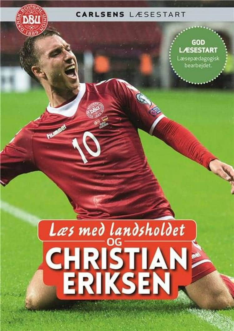 adventsgaver, kalendergaver, Læs med landsholdet, Carlsens læsestart, fodboldbog, fodboldbøger, Christian Eriksen, letlæsningsbog, letlæsningsbøger