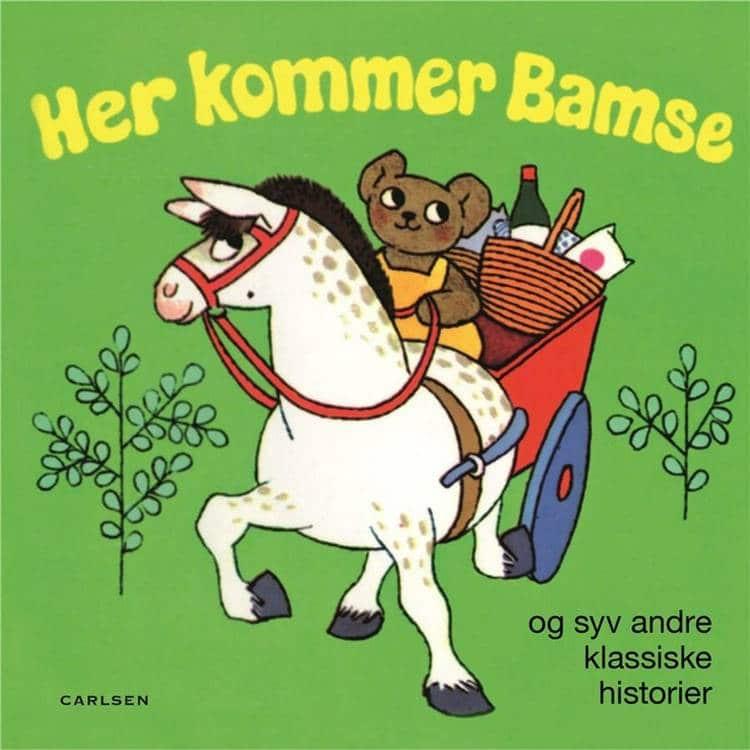 Adventsgaver, kalendergaver, Her kommer Bamse, Pixi, pixibøger, pixihistorier, pixibog, klassiske børnehistorier, børnebog, børnebøger