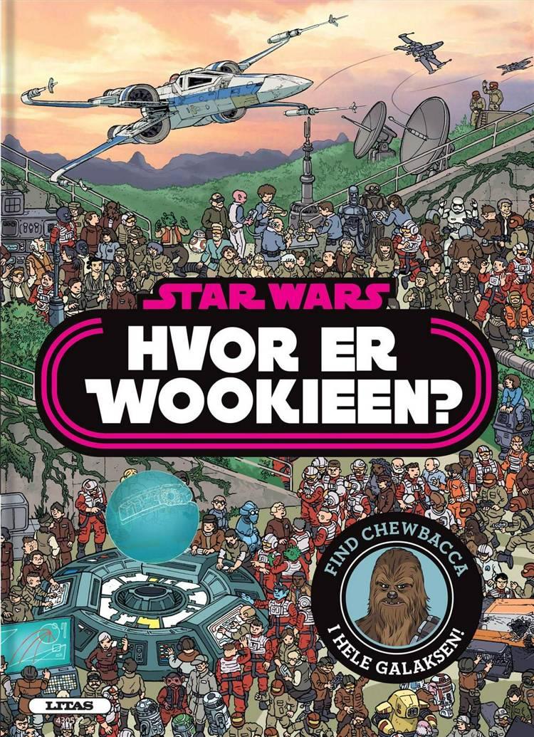 Adventsgaver, kalendergaver, Star Wars, myldrebog, wookie, Chewbacca, Hvor er wookien