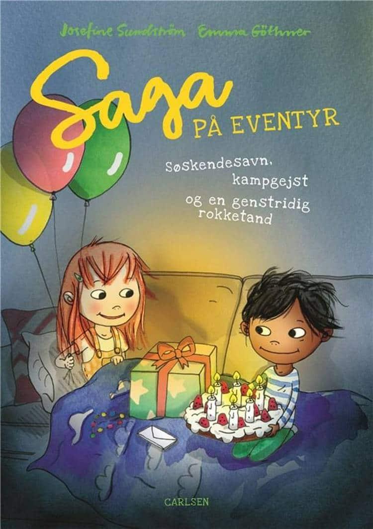adventsgaver, kalendergaver, Saga på eventyr, Josefine Sundström, pigebog, pigebøger, børnebog, børnebøger