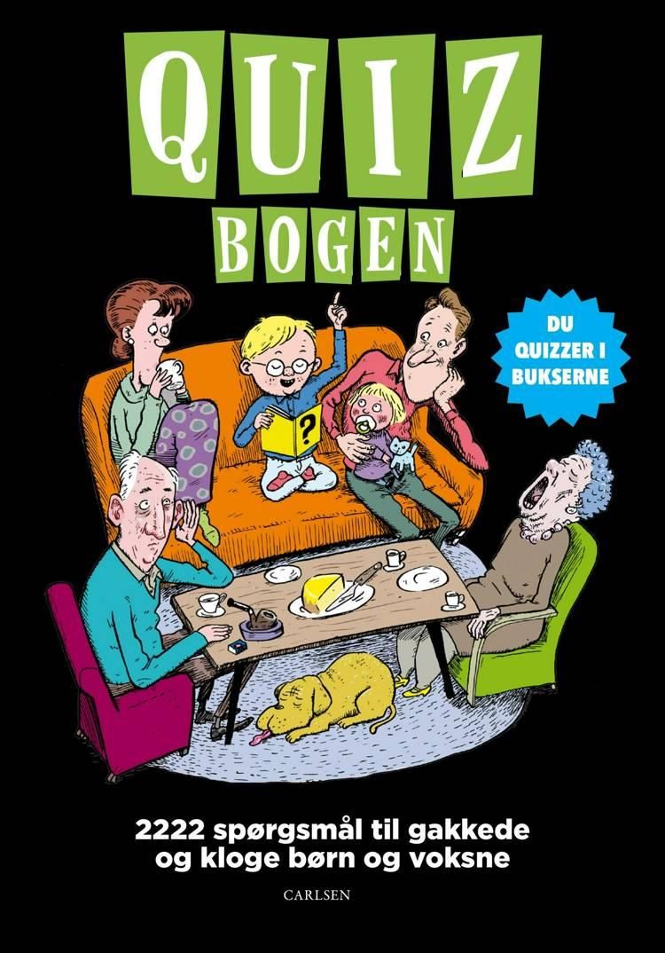 adventsgaver, kalendergaver, Quizbogen, P. ruth jørgensen, quizbog, quizbog til børn, børnebog, børnebøger, quiz