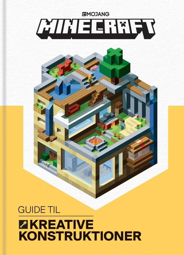adventsgaver, kalendergaver, Minecraft, Minecraft-bog, guide til kreative konstruktioner, Minecraft-guide, børnebog, børnebøger