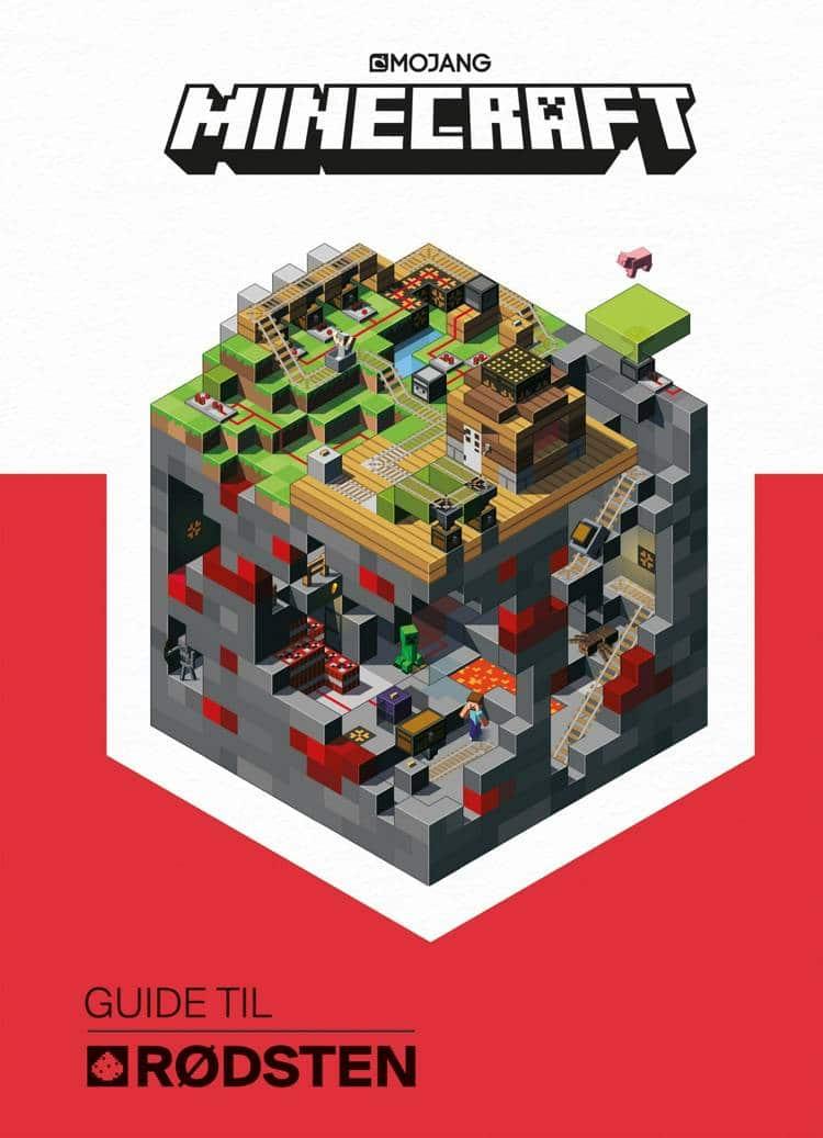 adventsgaver, kalendergaver, Minecraft, Minecraft-bog, Minecraft-guide, guide til rødsten, børnebog, børnebøger,
