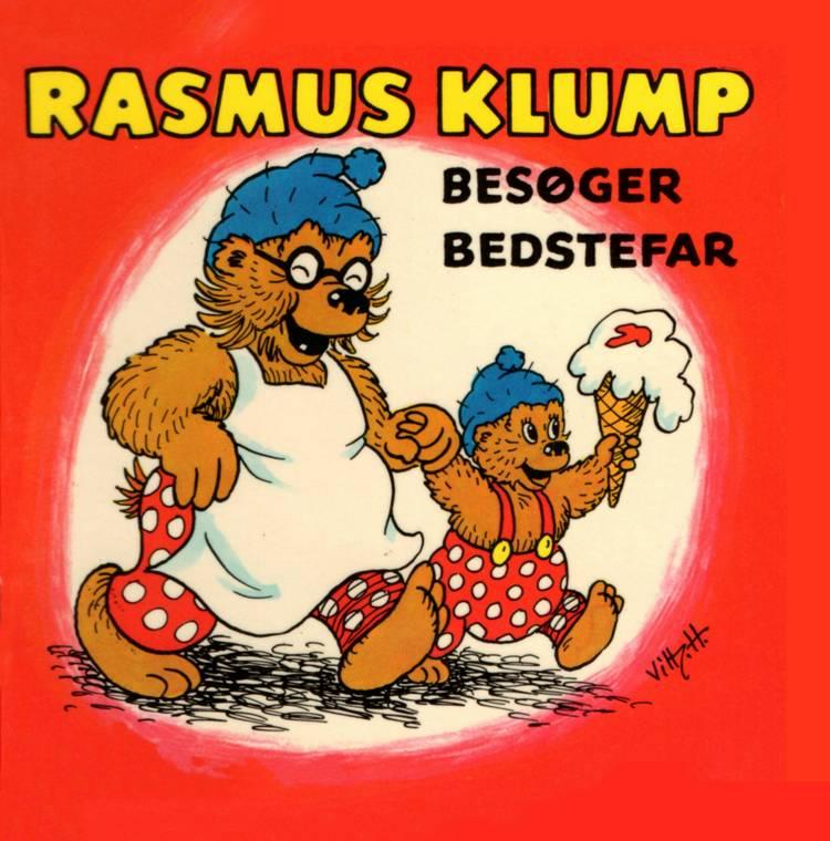 Adventsgaver, kalendergaver, Børnebog, børnebøger, Rasmus Klump, Rasmus Klump besøger bedstefar og syv andre historier, Carla Hansen, Vilhelm Hansen,