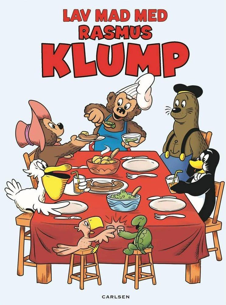 Adventsgaver, kalendergaver, Lav mad med Rasmus Klump, Rasmus klump, kogebog, Louisa Lorang, kogebog til børn, børnebog, børnebøger