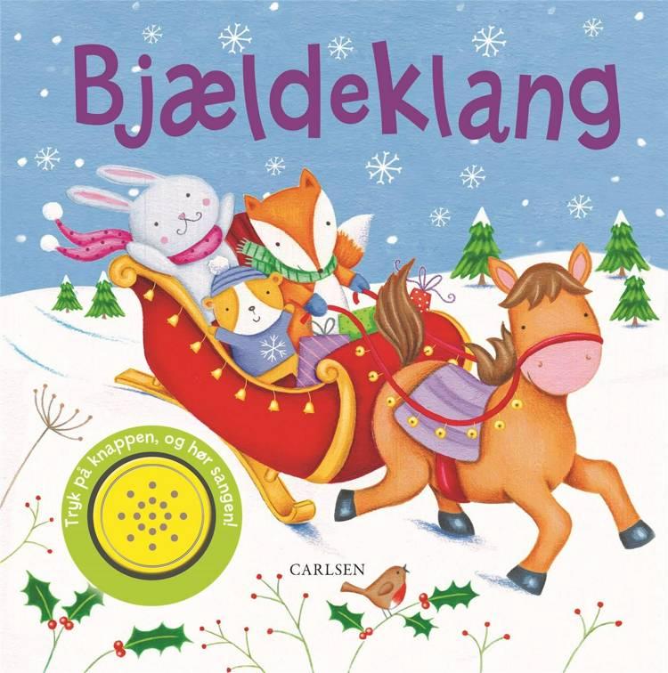 Adventsgaver, kalendergaver, Papbog, Bjældeklang, julebog, julebøger til de mindste, julepapbog, papbog med lyd