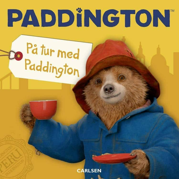 Adventsgaver, kalendergaver, Paddington, På tur med Paddington, papbog, papbøger, børnebog, børnebøger, Paddington papbog