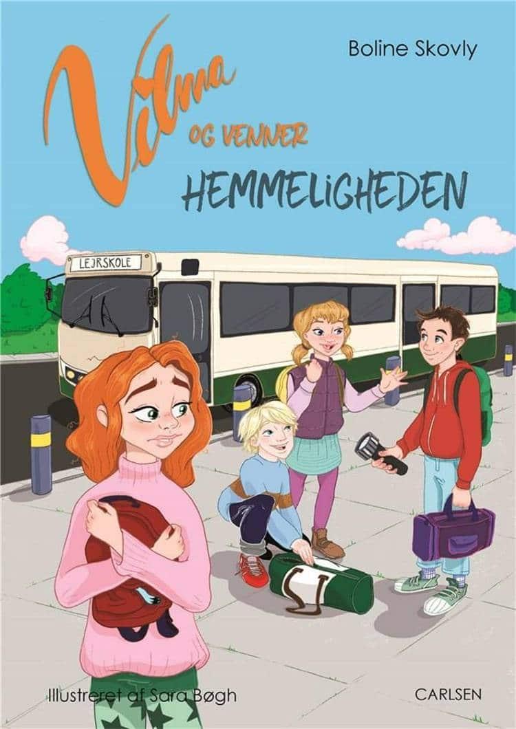 Vilma og venner, Boline Skovly, pigebog, børnebøger, pigebøger, børnebog, adventsgaver, kalendergaver,