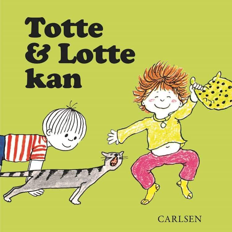 Totte og Lotte kan, Totte og Lotte, papbog, papbøger, adventsgaver, kalendergaver